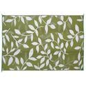 6' x 9' Leaf Mat, Green