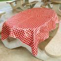 Rustic Plaid Tablecloth