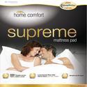 Short Queen Home Comfort Mattress Pad
