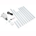 Manual Crank to Power Upgrade Kit, White