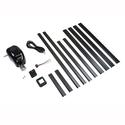 Manual Crank to Power Upgrade Kit, Black