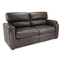 "Crestwood Tri-Fold Sofa, 70"" - Chocolate"
