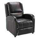Push Back Recliner, Melody Walnut