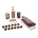 Burgundy Bath in a Box Set