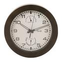 Wall Clock with Thermometer and Humidity, 10