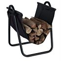 Logan Firewood Storage Carrier, Black