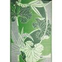 b.b.begonia Blossom Green Gray Reversible Patio Mat, 8' x 20'