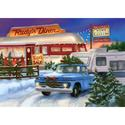 2015 Roadside Diner Christmas Card