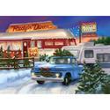 2015 Roadside Diner Christmas Card