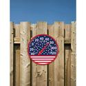 12 dia. Thermometer, American Flag