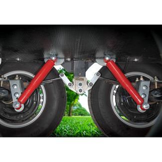 """Joy Rider Trailer Suspension Rebound Control & Sway Restraint System, 3"""" Trailer Axle"""