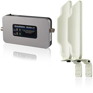 SmoothTalker Mobile X1-50 High Power Wireless Cellular Signal Booster Kit with Directional Antennas