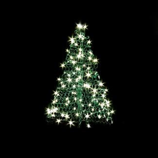 3' Crab Pot Tree, 200 Clear Lights