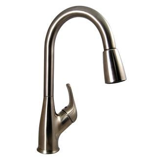 Kitchen Pull-Down Faucet, Brushed Nickel Finish