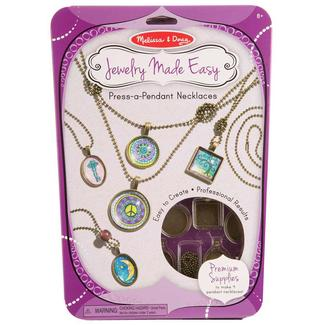 Press-a-Pendant Necklaces