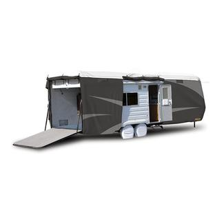 ADCO All Climate &#x2b&#x3b; Wind Designer Tyvek RV Cover - Toy Hauler, Up to 20&#x27&#x3b;