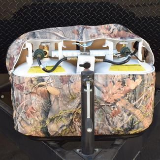 20 lb. Single Tank Oaks Camouflage Propane Tank Cover