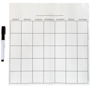 Dry Erase Message Board & Calendar