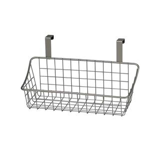 Over-Cabinet Basket, Brushed Nickel Finish