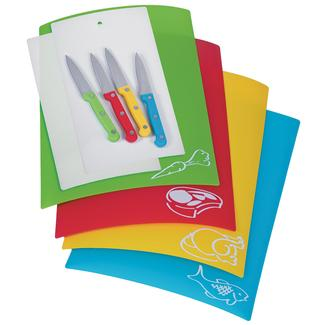 Color Coded 10-piece Chopping Set