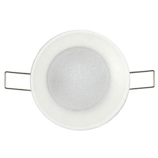 """3"""" Lexan Radiance LED Overhead Light - Spring Mount, White"""