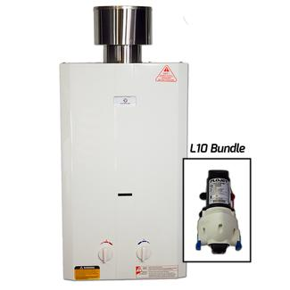 EccoTemp L10 Portable Tankless Water Heater And FloJet Pump