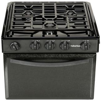 Sealed Burner Gas Range - Piezo Lite, 17&quot&#x3b;