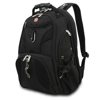 Black SwissGear Scan Smart Backpack