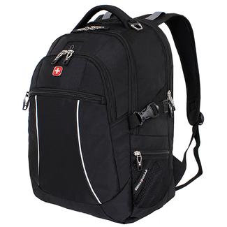 Black SwissGear Bungee Backpack