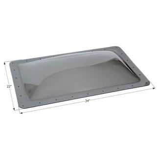 RV Skylight SL1830S - Smoke