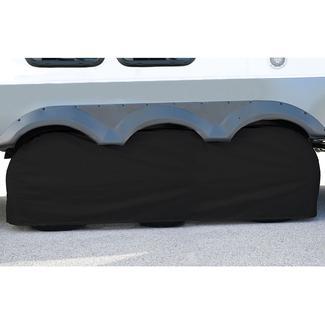 Elements Black Triple Tire Cover, 30
