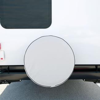 Elements White Spare Tire Cover, 24