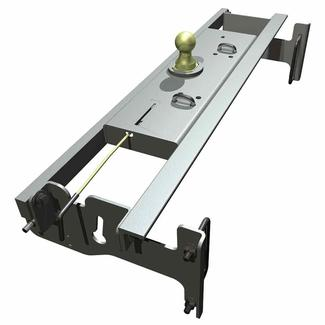 B & W Turnoverball Gooseneck Hitch, 2003-2009 Dodge 2500 ¾ Ton