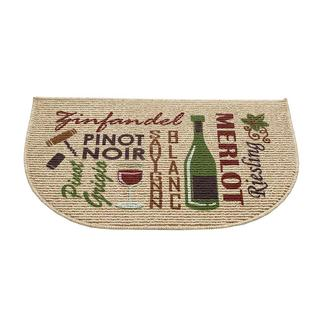 Words of Wine Kitchen Mat, 18