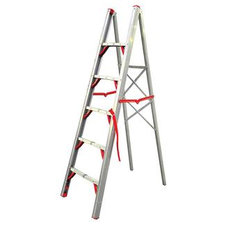 Regal Folding Aluminum Single-Sided STIK Ladder, 6'