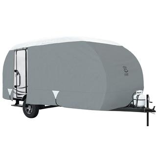Gray Overdrive PolyPro 3 R-Pod Trailer Cover, Up to 20'