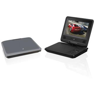 "7"" Swivel Screen Portable DVD Player for Home and Car"