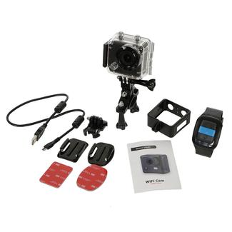 Portable Action Camera with Watch Controller