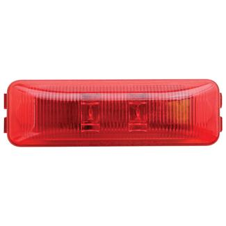 LED Thinline Marker/Clearance Light&#x3b; Base and Mounting Hardware Included&#x3b; Red, Sealed&#x3b; 1 Diodes