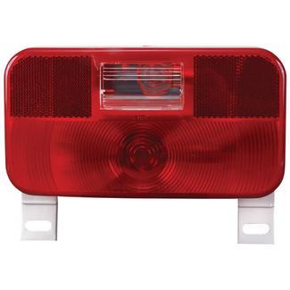 RV Stop/Tail/Turn Tail Light w/ illuminator; w/ backup light; Red