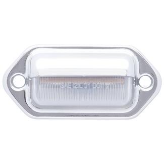 LED Mini Chrome License