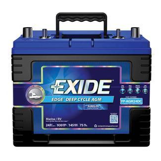 Exide Edge AGM Heavy-Duty Batteries, FP-AGM24DCDS - Automotive