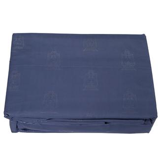 Navy Embossed Lantern Sheet Sets, Full