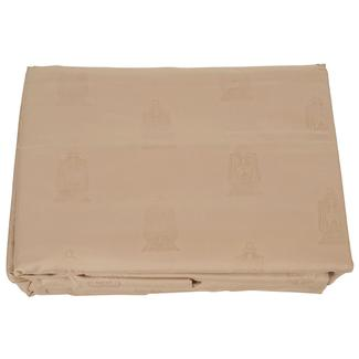 Taupe Embossed Lantern Sheet Sets, Short Queen