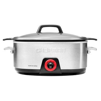 Chefman Slow Cooker with Die-Cast Aluminum Insert