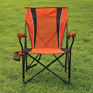Dual Lock Hard Arm Chair, Orange
