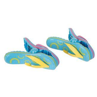 Boca Towel Clips, Set of 2, Flip Flops