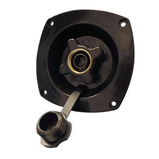 Black Pressure-Reducing City Water Entry, Wall Mount