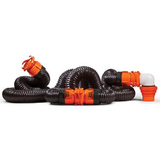 RhinoFLEX 20' Swivel RV Sewer Hose Kit