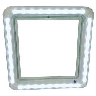 RV Chandelier LED Roof Vent Trim Ring- Warm White